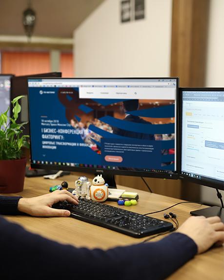 Представительный корпоративный сайт под ключ