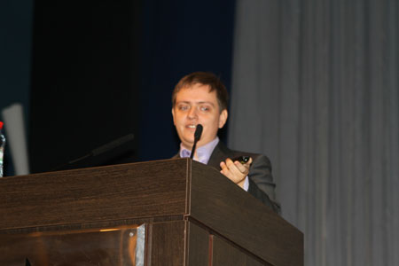 Дмитрий Батраков выступил на конференции Optimization-2011